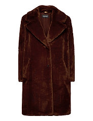 Coats woven - RUST BROWN