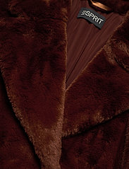 Esprit Collection - Coats woven - faux fur - rust brown - 2