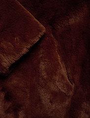 Esprit Collection - Coats woven - faux fur - rust brown - 3