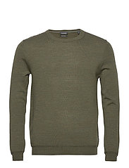 Sweaters - KHAKI GREEN 5