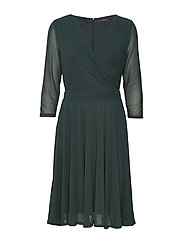 Dresses knitted - BOTTLE GREEN