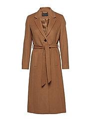 Coats woven - CAMEL