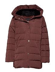 Jackets outdoor woven - RUST BROWN