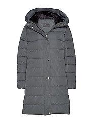 Coats woven - DARK TEAL GREEN