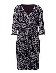 Dresses knitted - DARK PURPLE 2