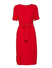 Dresses light woven - RED