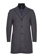 Coats woven - GREY BLUE