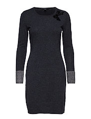 Dresses flat knitted - DARK GREY 5