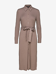 Esprit Collection - Dresses knitted - skjortekjoler - taupe - 0