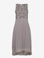 Esprit Collection - Dresses light woven - midi kjoler - grey - 0
