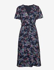 Esprit Collection - Dresses light woven - slå-om-kjoler - navy 4 - 0