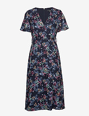 Esprit Collection - Dresses light woven - slå-om-kjoler - navy 4 - 2