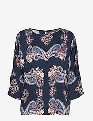 Esprit Collection - Blouses woven - langærmede bluser - navy 4 - 0
