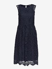 Esprit Collection - Dresses light woven - midi kjoler - navy - 0