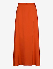 Esprit Collection - Skirts light woven - maxi skirts - red orange - 0