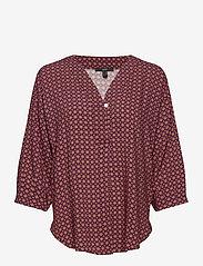 Esprit Collection - Blouses woven - langermede bluser - bordeaux red 4 - 0