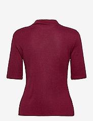 Esprit Collection - T-Shirts - t-shirts - bordeaux red - 1