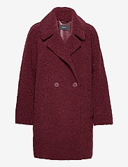 Esprit Collection - Coats woven - manteaux en laine - bordeaux red - 0