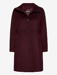 Esprit Collection - Coats woven - manteaux en laine - bordeaux red - 0
