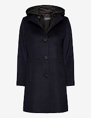 Esprit Collection - Coats woven - manteaux en laine - navy - 0