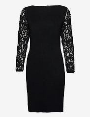 Esprit Collection - Dresses flat knitted - sommerkjoler - black - 0