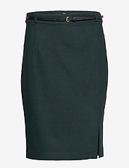 Esprit Collection - Skirts woven - midi skirts - dark teal green - 0