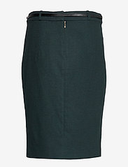 Esprit Collection - Skirts woven - midi skirts - dark teal green - 1