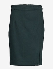 Esprit Collection - Skirts woven - midi skirts - dark teal green - 2