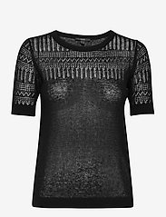 Esprit Collection - Sweaters - strikkede toppe - black - 0