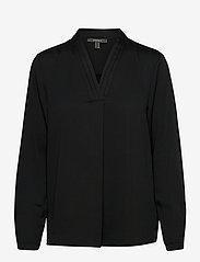 Esprit Collection - Blouses woven - langermede bluser - black - 0