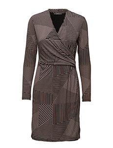 Dresses knitted - DUSTY NUDE 2