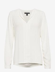 Blouses woven - bluzki z długimi rękawami - off white