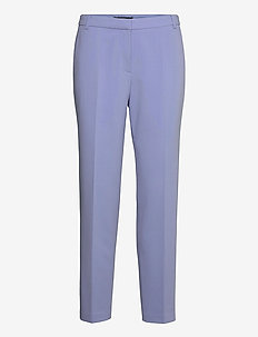 Pants woven - straight leg trousers - blue lavender