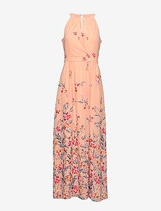 Dresses light woven - slå-om-kjoler - pastel pink 4
