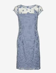 Dresses light woven - midi kjoler - blue lavender