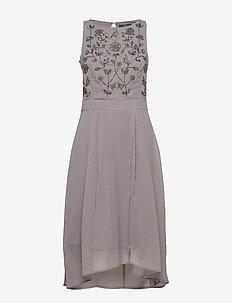 Dresses light woven - midi kjoler - grey