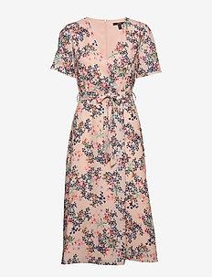 Dresses light woven - omlottklänning - pastel pink 4