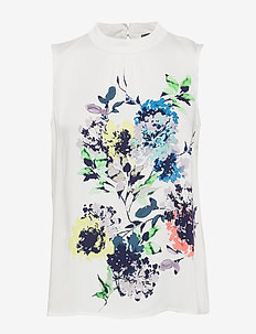 Blouses woven - bluzki bez rękawów - off white 4