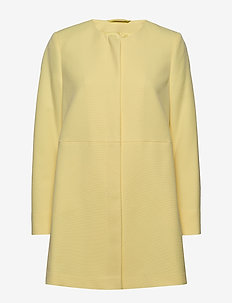 Coats woven - lime yellow