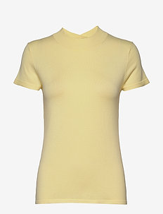 Sweaters - knitted tops & t-shirts - lime yellow