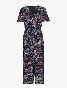 Overalls woven - jumpsuits - navy 4