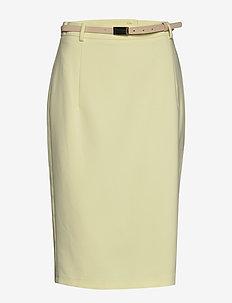 Skirts woven - LIME YELLOW