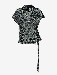 Blouses woven - bluzki z krótkim rękawem - navy 3