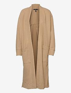 Jackets indoor knitted - cardigans - beige