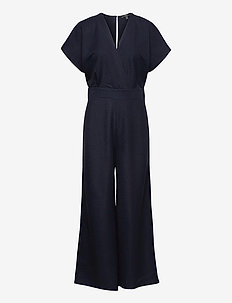 Overalls knitted - jumpsuits - navy