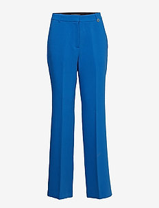 Pants woven - straight leg trousers - bright blue