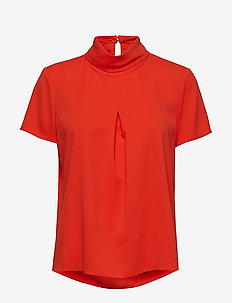 Blouses woven - RED ORANGE
