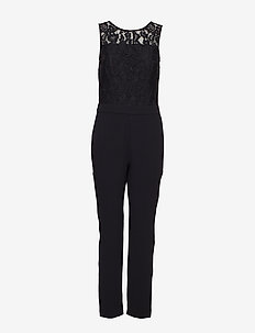 Overalls woven - jumpsuits - black