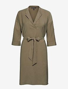 Dresses light woven - KHAKI GREEN