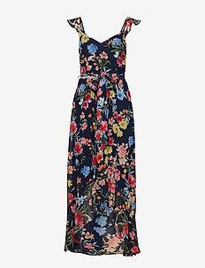 Dresses light woven - midi kjoler - navy